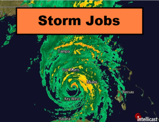 New job board StormJobs.net offers free listings for cleanup and rebuild jobs after the storm