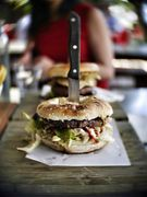 Chubby Hubby dishes up almost daily content to a worldwide audience. This burger shot was taken at The Burger Bar in Noosa, Australia.