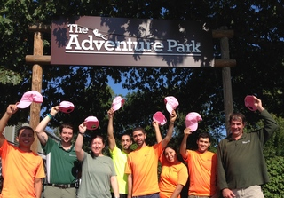 "Adventure Park Hosts October Event for Breast Cancer Awareness: ""Climb for a Cure"""