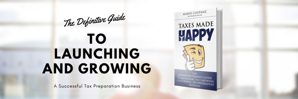 Author Mario Costanz takes you on a journey through his rise from GED to Garbageman to Graduate School and to CEO of the Fastest Growing Tax Business, Happy Tax.