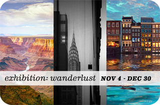 """Wanderlust / A Group Show"" Opens November 4th at Sparks Gallery"