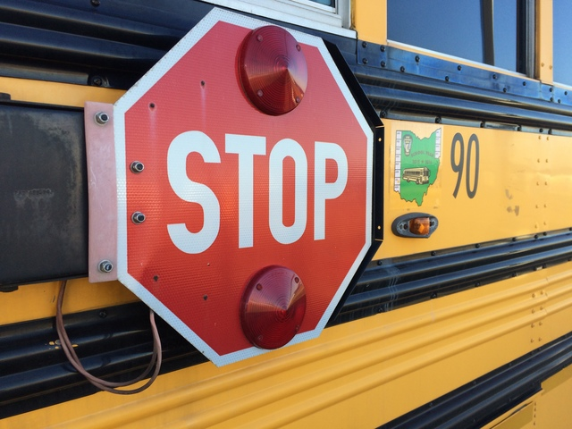#StopOnRed is the theme of National School Bus Safety Week for 2017.