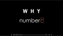 Why Number8? The new website features a video that explains the meaning behind the company's name and the benefits of choosing Number8 for nearshore outsourcing.