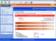 Windows Interactive Security's interface masquerades as a security program.