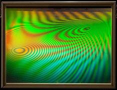 Field Frame - Hologram by Al Razutis