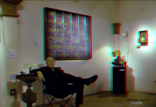 Hooked on Holograms: Area of Design Features Holographic Artist Al Razutis