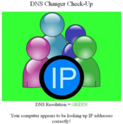 DNS Changer Malware check up page. Visit http://www.dns-ok.us to check to see if you're infected with DNS Changer.