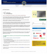 DNS Changer redirects to pages like the FBI Moneypak Ransomware