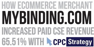 Online Retailer MyBinding.com Increases CSE Revenue 65% with Shopping Comparison Sites