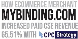 Online Retailer MyBinding.com Increases CSE Revenue 65% with Shopping Comparison Sites