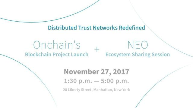 The Coundown Has Begun For Ontology Network Launch in NYC on November 27