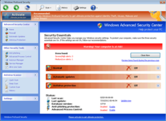 Windows Profound Security's Security Essentials does nothing to aid PC users.