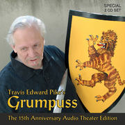 Grumpuss 15th Anniversary Audio Theater Edition CD Cover