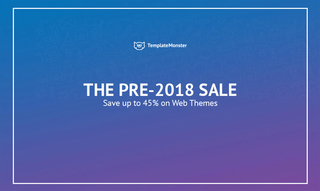 3 Days Only! Christmas Pre-2018 Sale from TemplateMonster