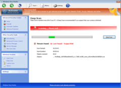 Windows Virus Hunter will not perform an actual system scan. Windows Virus Hunter pretends to scan to scare PC users.