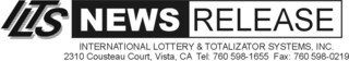 International Lottery & Totalizator Systems, Inc., Awarded the World Lottery Association Security Control Standards:…