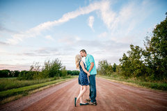 Gorgeous engagement photo session in an outdoor setting in Wisconsin.  Captured by Adam Shea Photography.