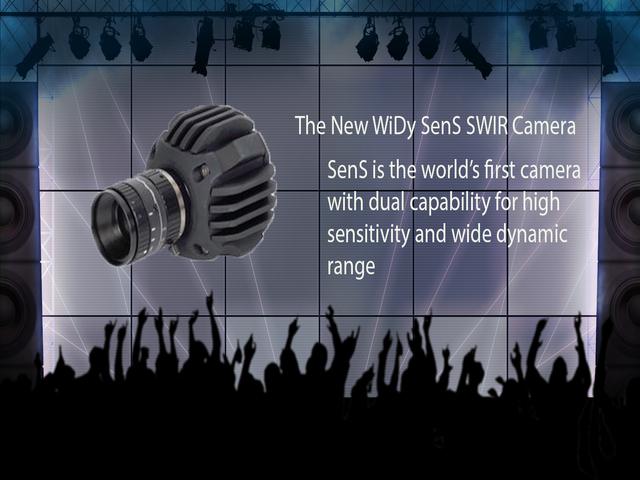 New SenS SWIR InGaAs Camera