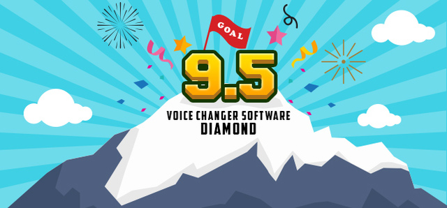 Voice Changer Software Diamond 9.5 is Audio4fun's latest achievement since its release in 2017