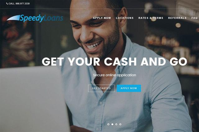 The New SpeedyLoans Website