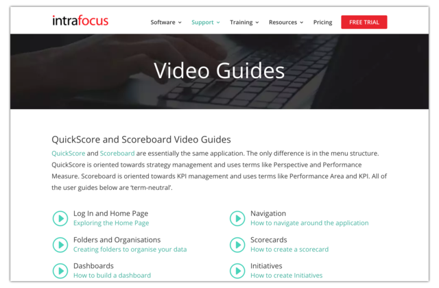 Video Guides