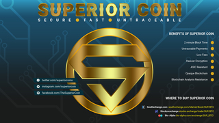 Superior Coin's private transactions help to reduce identity theft