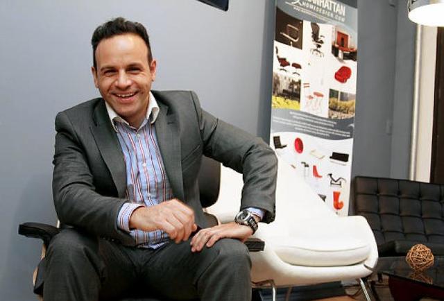 Daniel Levy founder of Manhattan Home Design