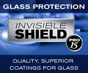 Invisible Shield PRO 15 offers a value added benefit and anti-corrosion feature for architectural glass and manufacturers
