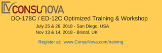 ConsuNova announces its 2018 DO-178C Training opportunities: July 25-26 in San Diego, CA and November 13-14 in Bristol, …