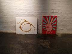 The two paintings Megan has submitted to the new 1619 Flux exhibition will be available for sale and Megan will be donating a percentage of the proceeds to the Louisville Coalition for CEDAW.