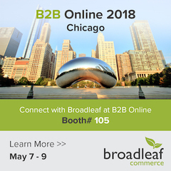 Broadleaf Commerce Shares eCommerce Insight at B2B Online 2018