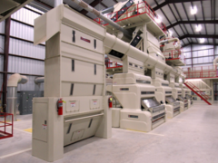 Ginning equipment, like the machine pictured here, is one of the things Lummus is known for designing, manufacturing, and installing in the U.S. and across the globe.
