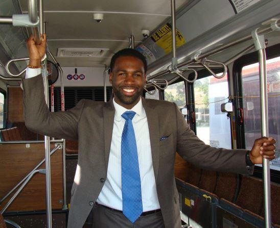 Rashidi Barnes, Director of Business Development for First Transit. Source: Rashidi Barnes