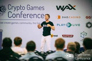 World first Crypto Games conference featured over 25 speakers and non-stop networking