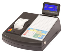 QMP2284 with flat keyboard and Dallas i-button lock.