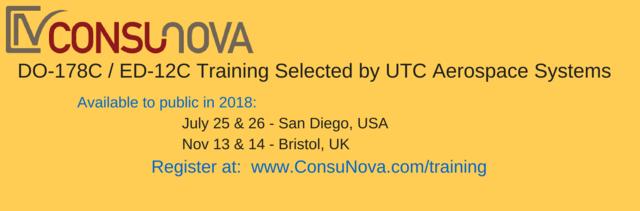 ConsuNova DO-178C Training Selected by UTC Aerospace Systems Worldwide.