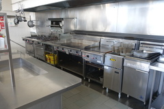Restaurant Equipment is included in the sale of the property
