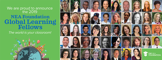 48 Educators Selected as 2019 NEA Foundation Global Learning Fellows