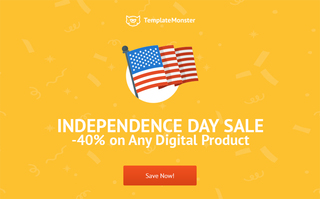 Celebrate Independence Day with TemplateMonster, Time to Grab Your Discounts