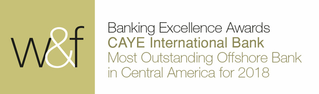 Caye International Bank Awarded Most Outstanding Offshore Bank in Central America