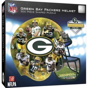 Green Bay Packers Helmet Shaped Puzzle by MasterPieces Inc.