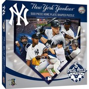 New York Yankees Home Plate Shaped Puzzle by MasterPieces Inc.