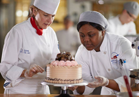 Hands-on learning at the American Academy of Culinary Arts at Pittsburgh Technical College