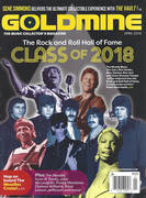 No, Pike didn't make the Hall of Fame, but in this issue of Goldmine,  April 2018 four of Travis' CDs were Lee Zimmerman's Quick Picks on page 32.