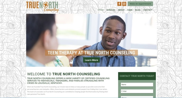 True North Counseling offers a wide variety of certified counseling services to individuals, teens, and families struggling with crises in Louisville, KY.