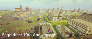 Rsgoldfast 10th Anniversary - RuneScape 2007 Gold Giveaways