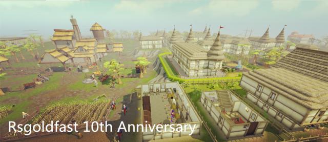 Rsgoldfast 10th Anniversary