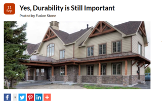 Durability, Still of Utmost Importance to Fusion Stone
