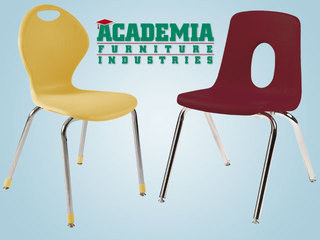 "SCHOOL CHAIRS FOR LARGER STUDENTS NOW AVAILABLE in 19"" SIZE FROM HERTZ FURNITURE"