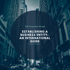 Fifth Release - 'Establishing a Business Entity: An International Guide'